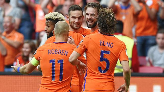 Video clip highlights bàn thắng trận Hà Lan 3-1 Bulgaria