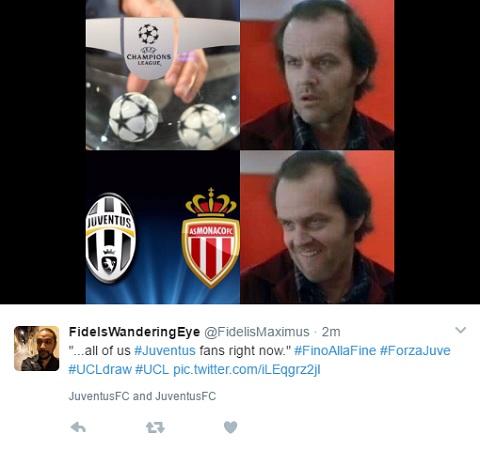 Toàn thể CĐV Juventus lúc này