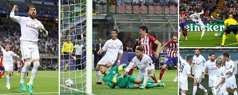 Real Madrid luôn giành chiến thắng trước Atletico Madrid ở Champions League
