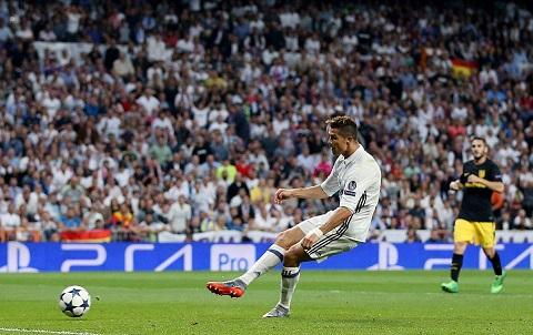 Ronaldo liên tục thăng hoa ở Champions League