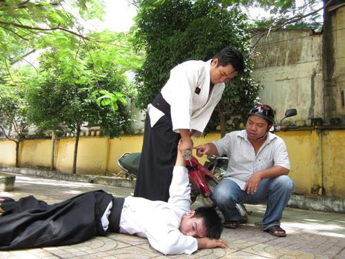 """tuve """"Hiệp sĩ"""" s ăn bắt cướp học võ tự vệ"""