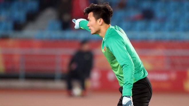 Thủ môn Tiến Dũng: 'U23 Việt Nam muốn có niềm vui trọn vẹn ở chung kết'