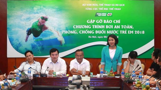 Phát động chương trình bơi an toàn và phòng chống đuối nước trẻ em 2018