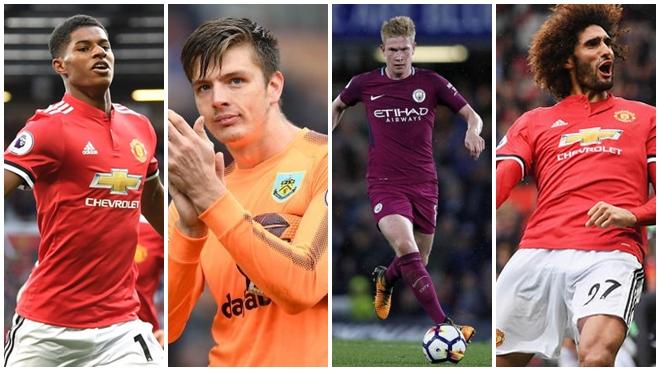 4 cầu thủ M.U góp mặt trong đội hình tiêu biểu vòng 7 Premier League