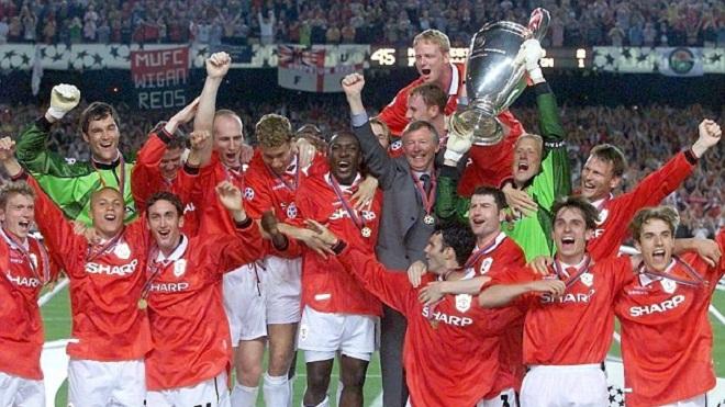 QUAN ĐIỂM: Đội hình M.U năm 1999 có thể đánh bại Man City hiện tại