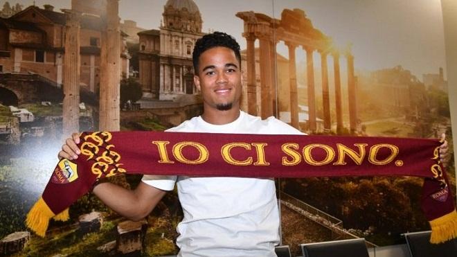 Mục tiêu của M.U, Justin Kluivert, bất ngờ gia nhập AS Roma