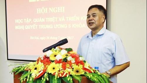 Đảng bộ TTXVN quán triệt, triển khai Nghị quyết Hội nghị Trung ương 6 khóa XII