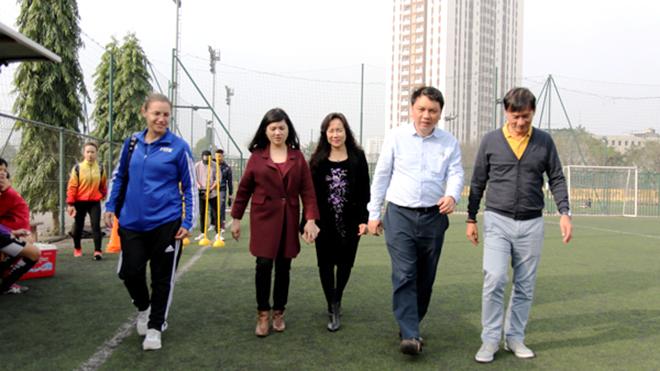 FIFA quan tâm bóng đá nữ Việt Nam