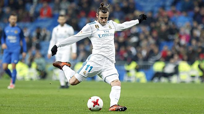Gareth Bale giờ bỗng nhiên trở thành niềm hy vọng lớn của Real Madrid