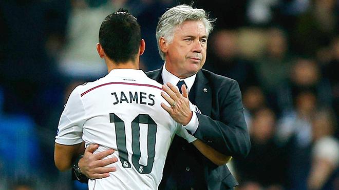 Ở Bayern Munich, James sẽ hồi sinh nhờ Ancelotti?
