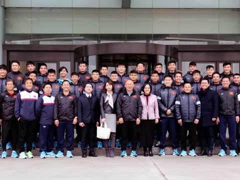 Các thành viên U23 Việt Nam xứng đáng nhận thưởng lớn sau kỳ tích. Ảnh: Nhật Đoàn