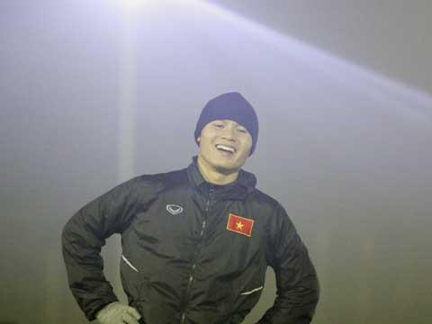 Quang Hải cùng với Tiến Dũng là những ngôi sao nhận thưởng lớn nhất của U23 Việt Nam. Ảnh: Nhật Đoàn