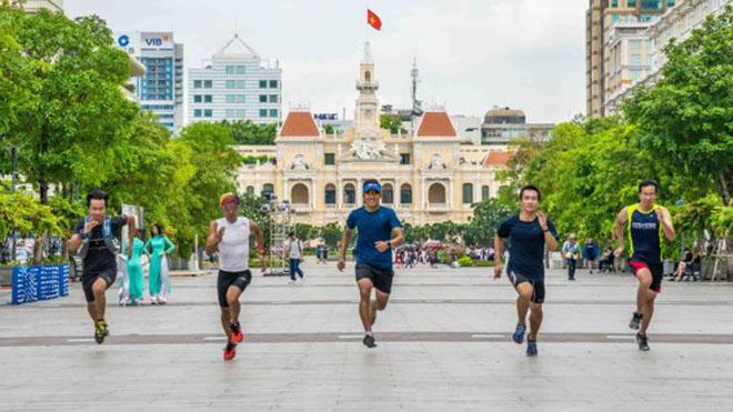 Kết quả hình ảnh cho tổ chức giải marathon