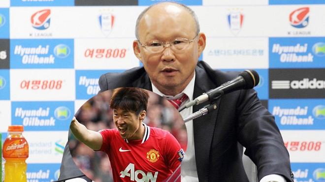 Tân HLV ĐT Việt Nam Park Hang-seo từng làm 'thầy cũ' của Park Ji-sung