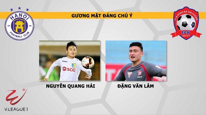 Hà Nội 1-0 Hải Phòng: Văn Đại mang về 3 điểm cho chủ nhà. Mưa pháo sáng ở Hàng Đẫy