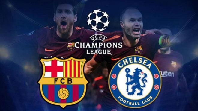 Video bàn thắng và clip highlights trận Barca 3-0 Chelsea