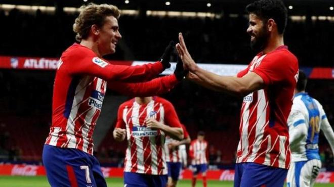 Diego Costa: 'Chính Griezmann lôi kéo tôi về Atletico. Cậu ấy không thể bỏ mà đi'