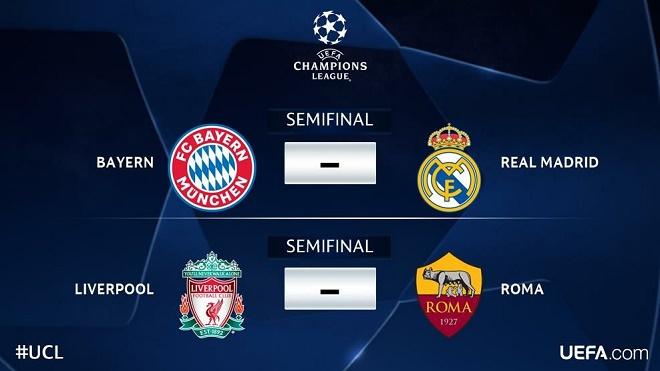 CẬP NHẬT tối 13/4: Real gặp Bayern. Liverpool đối đầu Roma. Dele Alli tuyên chiến với Man City