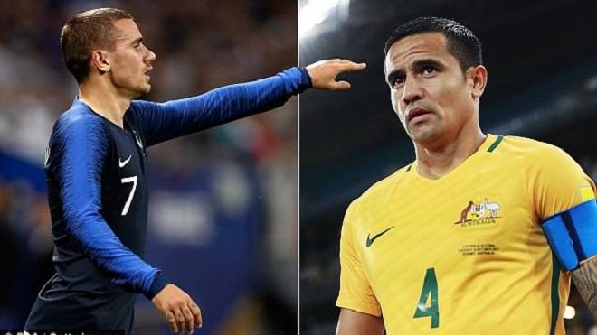 TRỰC TIẾP Pháp 0-0 Australia: 'Gà trống Gaulois' ép sân từ đầu (Hiệp 1)
