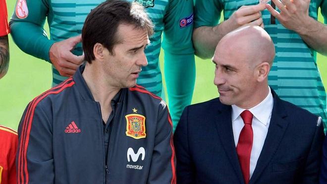 Chủ tịch LĐBĐ Tây Ban Nha thừa nhận bị HLV Lopetegui và Real Madrid 'đâm sau lưng'