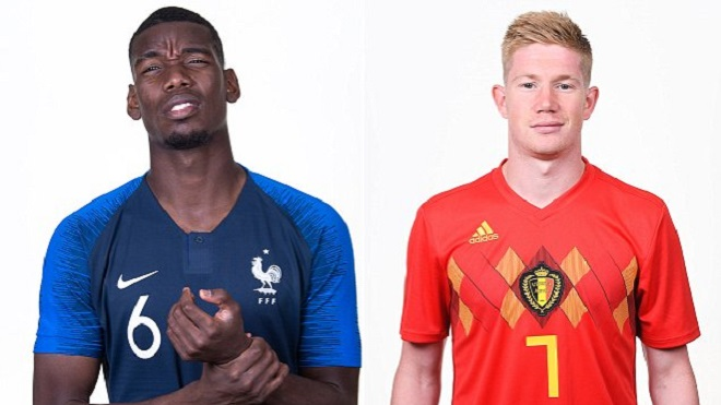 SOI KÈO Pháp vs Bỉ, bán kết World Cup 2018 (1h00 ngày 11/7). VTV3 trực tiếp