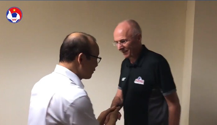 Park Hang Seo, Sven-Goran Eriksson, Việt Nam, Philippines, Bán kết AFF Cup, Chung kết AFF Cup, AFF Cup