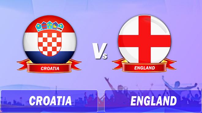TRỰC TIẾP Croatia 0-1 Anh: Trippier mở tỷ số (Hiệp 1)
