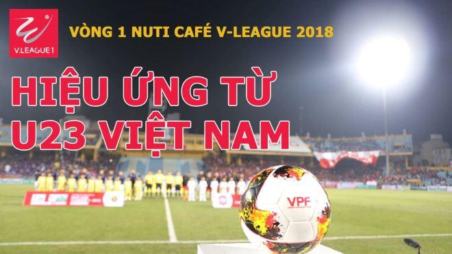 Khán giả V-League đã đến sân, nhưng 'sao' U23 Việt Nam im lặng
