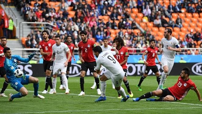 Ai Cập 0-1 Uruguay: Jose Gimenez ghi bàn quý giá, Uruguay thắng chật vật trận ra quân (KT)