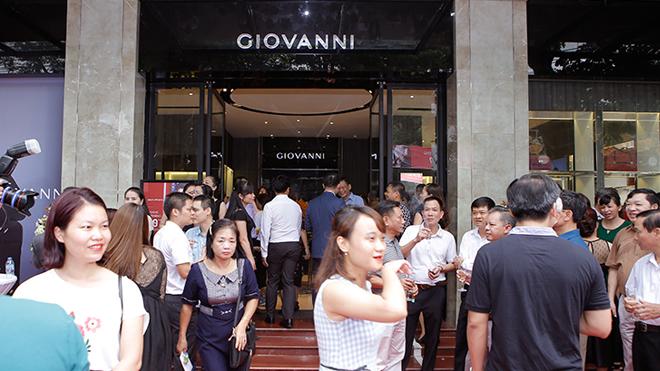 Giovanni Group tưng bừng khai trương cửa hàng đầu tiên tại thành phố Vĩnh Yên