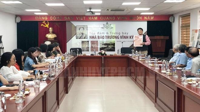 Tọa đàm, trưng bày chuyên đề về 'Nhà báo Trương Vĩnh Ký' - người nặng lòng với quốc ngữ