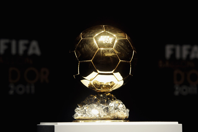 Kết quả trao giải Quả bóng vàng (QBV) châu Âu 2017