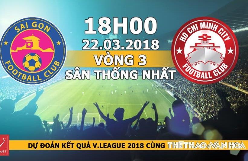 Dự đoán có thưởng vòng 3 V-League: Trận Sài Gòn FC và CLB TP. HCM