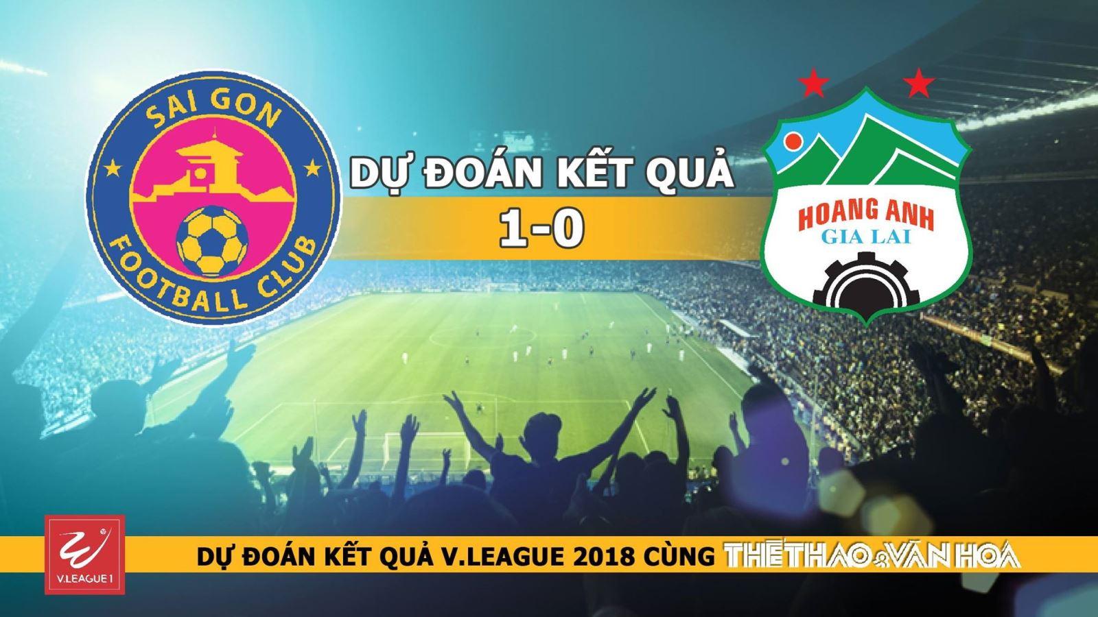 Dự đoán có thưởng vòng 5 V-League: Trận Sài Gòn - HAGL