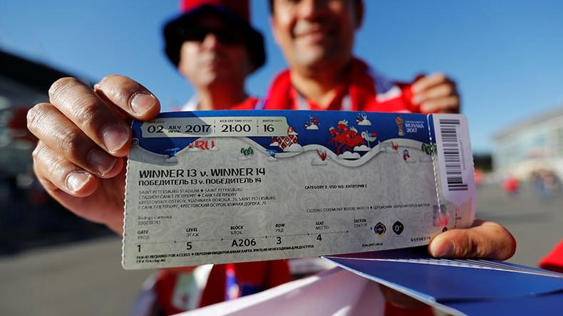 Nga có 'kế độc' để hạn chế tối đa nạn phe vé ở World Cup 2018