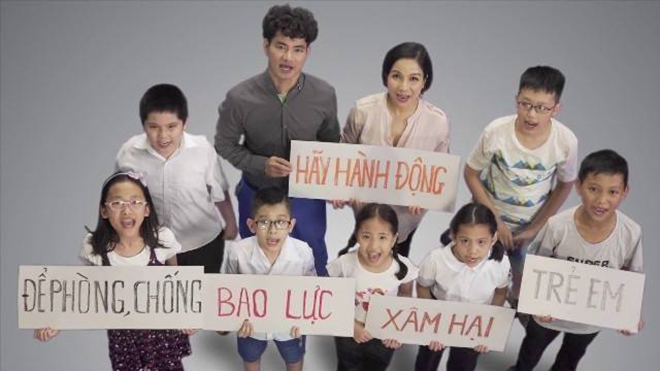 Minh Quân kêu gọi nghệ sĩ Nam - Bắc làm MV chống nạn xâm hại, bạo hành trẻ em