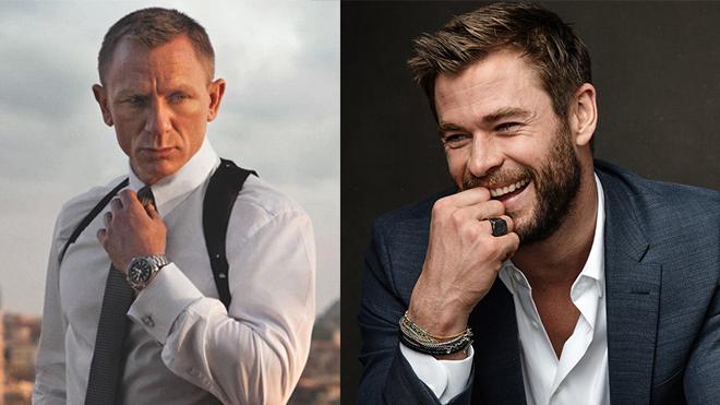 'Thần Thor' Christ Hemsworth có trở thành James Bond tiếp theo?