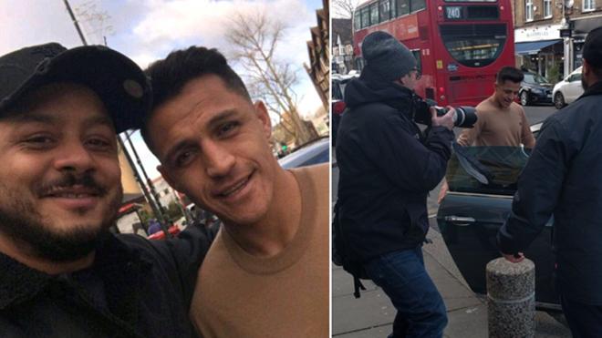 Alexis Sanchez bất ngờ nói lời tạm biệt với CĐV đặc biệt của Arsenal