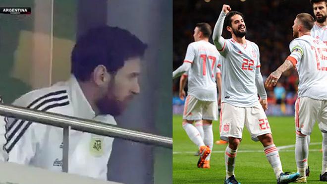 Huyền thoại Argentina chỉ trích Messi: 'Nếu là Ronaldo thì đã nén đau chiến đấu'
