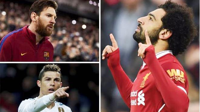 Ronaldo và Salah lập 'poker', cuộc đua tới Giày vàng châu Âu căng thẳng tột cùng