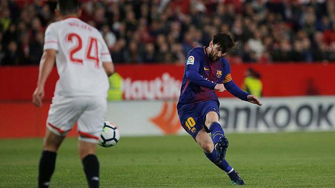 Kết quả Sevilla 2-2 Barcelona