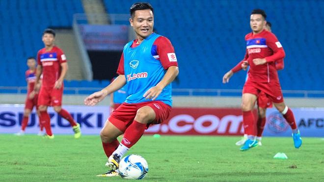 Thanh Trung tạm quên cuộc đua vô địch V-League, muốn HLV Park Hang Seo có chiến thắng ra mắt