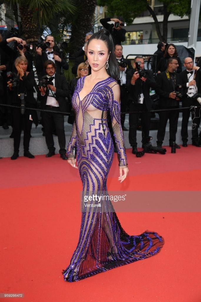 Vũ Ngọc Anh tiếp tục mặc hở bạo tại LHP Cannes 2018 5