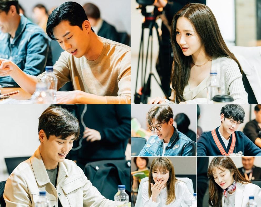 Fan hứng thú với tình tiết Park Seo Joon ghen tuông trong phim Thư Kí Kim Whats-Wrong-With-Secretary-Kim