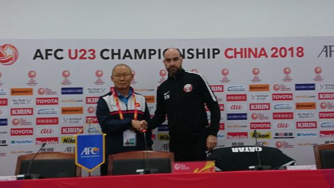 HLV Park Hang Seo: 'Chúng tôi đã tìm ra điểm yếu của U23 Qatar'