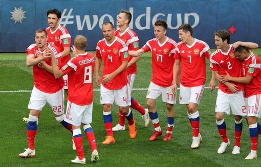 Video clip highlights bàn thắng Nga 5-0 Saudi Arabia