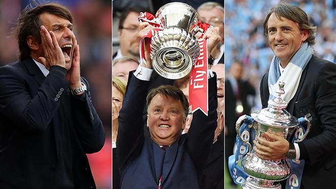 Chung kết FA Cup: Lời tiễn cho Conte như Van Gaal và Mancini đã từng?